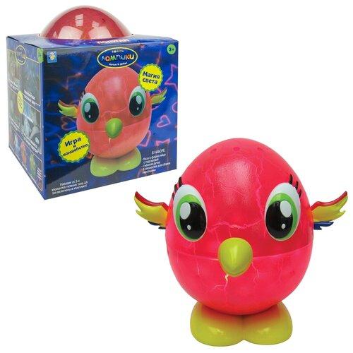 Фото - Ночник 1 TOY Лампики Попугай Т16360 (коробка), цвет арматуры: желтый, цвет плафона: разноцветный ночник 1 toy лампики попугай т16360 коробка