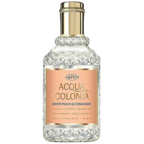 Купить Одеколон 4711 Acqua Colonia White Peach & Coriander, 50 мл