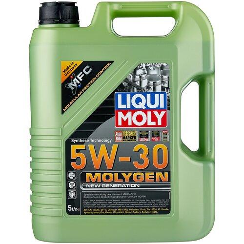 Фото - Моторное масло LIQUI MOLY Molygen New Generation 5W-30, 5 л моторное масло liqui moly molygen new generation 10w 40 4 л