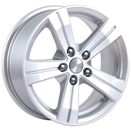 Фото - Колесный диск SKAD Мицар 6.5x16/5x112 D67.1 ET38 Селена диск колесный скад мицар 6 5xr16 5x112 et38 цо67 1 серебристый 0350408