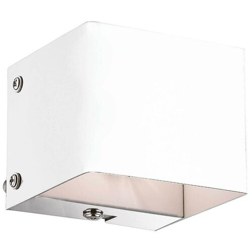 Настенный светильник IDEAL LUX Flash AP1 Bianco, G9, 40 Вт, кол-во ламп: 1 шт., цвет арматуры: белый, цвет плафона: белый настенный светильник ideal lux flash ap1 bianco