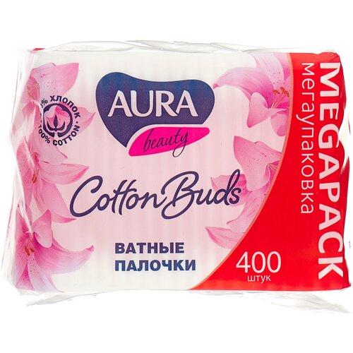 Ватные палочки Aura Beauty Cotton buds, 400 шт.