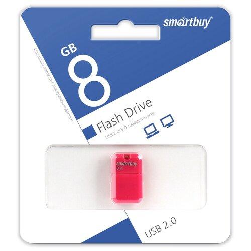 Фото - Флешка SmartBuy Art 8 GB, розовый флешка smartbuy art 64 gb черный