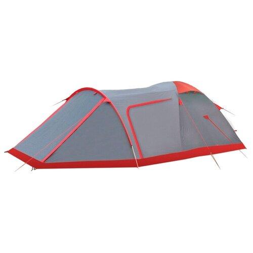 Палатка Tramp CAVE V2 серый
