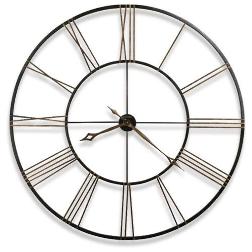Часы настенные кварцевые Howard Miller Postema черный