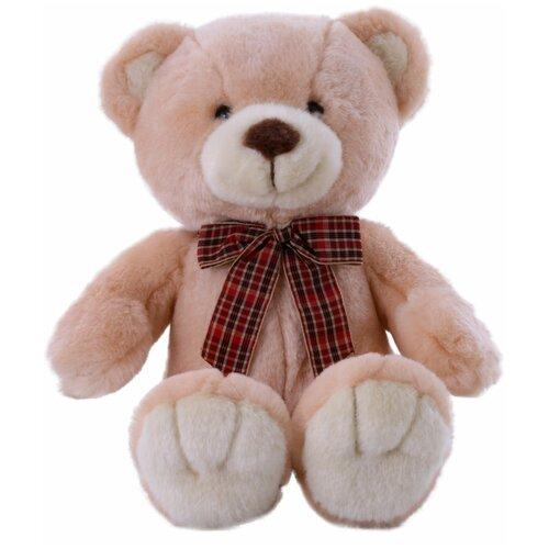 Мягкая игрушка Softoy Медведь персиковый 32 см softoy ut 1301 игрушка мягкая бык 45 см