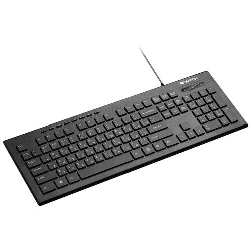 Клавиатура Canyon CNS-HKB2-RU Black USB