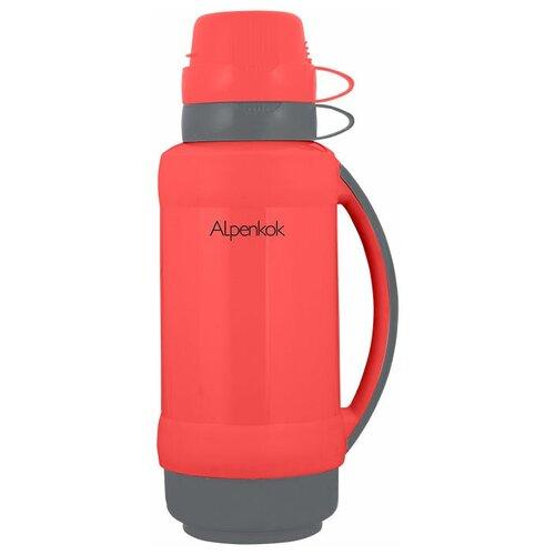 Классический термос Alpenkok AK-18023S/AK-18024S, 1.8 л коралловый