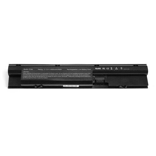 Аккумулятор для ноутбука HP 450 G1, 470 G0, 470 G1, 470 G2, ProBook 440, ProBook 445, ProBook 450 Series. 10.8V 4400mAh PN: HSTNN-YB4J, FP06