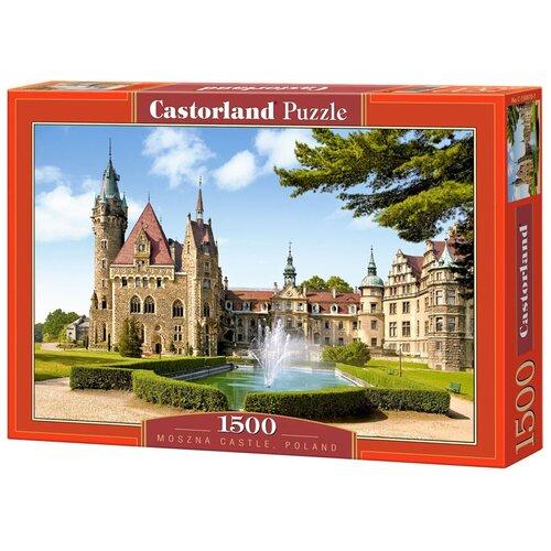 Пазл Castorland Moszna Castle, Poland (C-150670), 1500 дет. пазл castorland kittens play time c 151639 1500 дет