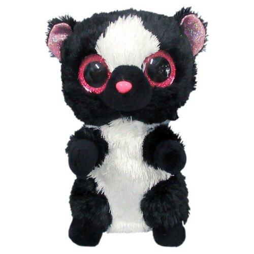 Мягкая игрушка Yangzhou Kingstone Toys Скунс черный 15 см