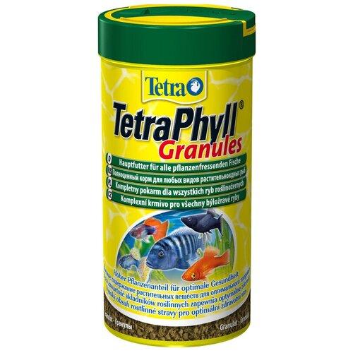Фото - Сухой корм для рыб Tetra Phyll Granules, 250 мл сухой корм для рыб tetra discus granules 100 мл