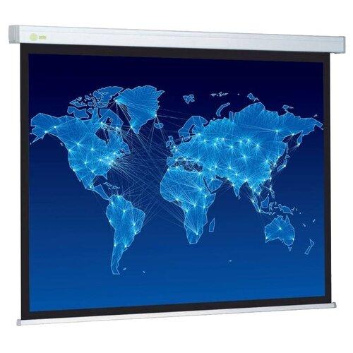 Фото - Рулонный матовый белый экран cactus Wallscreen CS-PSW-152x203 экран cactus wallscreen cs psw 152x203 4 3 настенно потолочный 152x203 рулонный белый