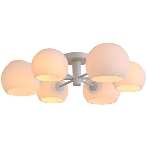 Люстра ST Luce Calmare SL434.502.06, E14, 240 Вт, кол-во ламп: 6 шт., цвет арматуры: белый, цвет плафона: белый недорого