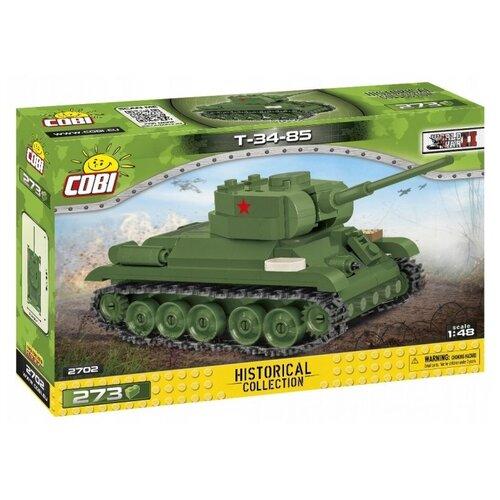 Купить Конструктор Cobi Small Army World War II 2702 Советский танк Т-34-85, Конструкторы