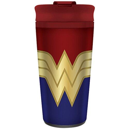 Термокружка Pyramid International Wonder Woman Strong, 0.45 л красный/синий