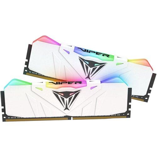 Фото - Оперативная память Patriot Memory VIPER RGB 16GB (8GBx2) DDR4 3200MHz DIMM 288-pin CL16 PVR416G320C6KW оперативная память patriot memory viper rgb 16gb 8gbx2 ddr4 4133mhz dimm 288 pin cl19 pvr416g413c9k
