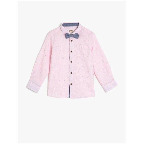 Рубашка KOTON размер 9-10 лет (134-140), розовый