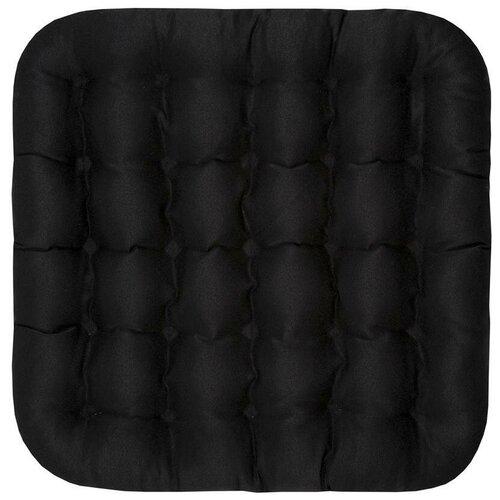 Подушка на стул BIO-TEXTILES Био, 40 x 40 см (PEK999) черный