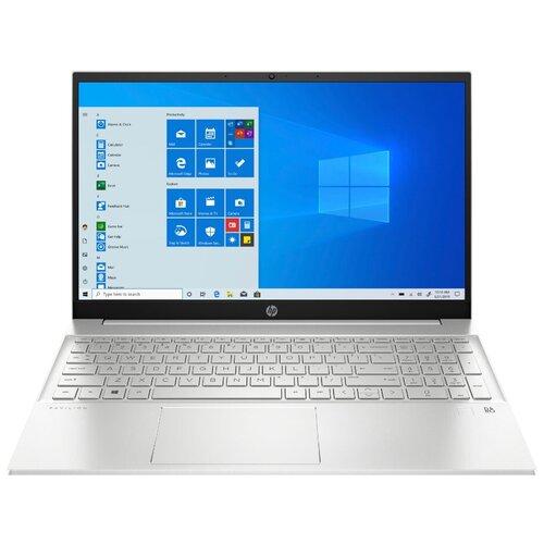 "Ноутбук HP Pavilion 15-eg0058ur (Intel Core i7 1165G7/15.6""/1920x1080/16GB/512GB SSD/Intel Iris Xe Graphics/Windows 10 Home) 2X2T4EA естественный серебристый"