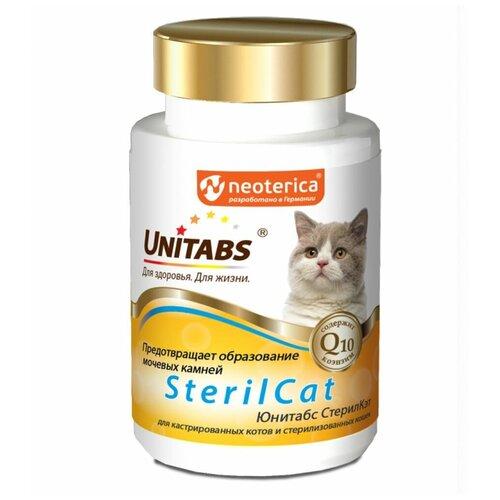 Добавка в корм Unitabs SterilCat для кастрированных котов и стерилизованных кошек таблетки 120 таб.