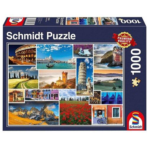 Пазл Schmidt Коллаж Отпуск в Италии (58339), 1000 дет. недорого
