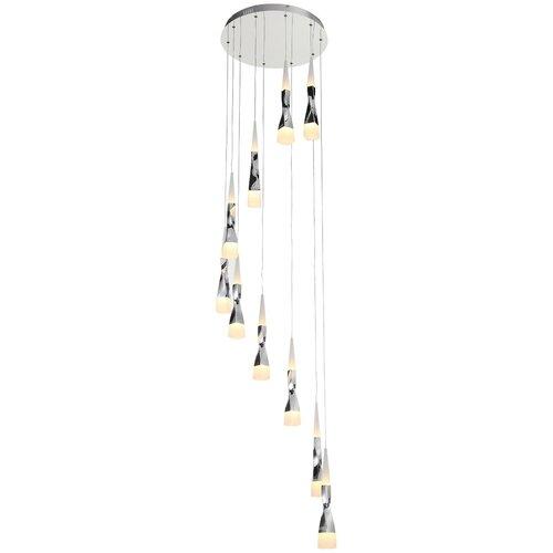 Люстра светодиодная ST Luce Bochie SL405.103.10, LED, 70 Вт люстра светодиодная st luce piazza sl945 403 03 led 137 вт