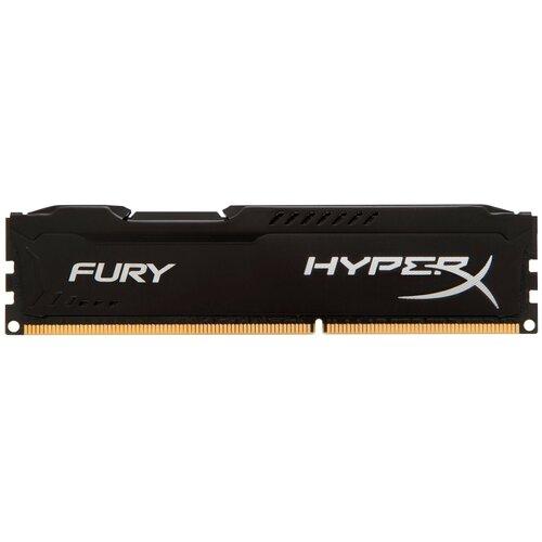 Фото - Оперативная память HyperX Fury 4GB DDR3 1333MHz DIMM 240-pin CL9 HX313C9FB/4 оперативная память kingston hx313c9fw 4 hyperx fury white series dimm 4gb ddr3 1333mhz
