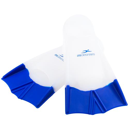 Ласты тренировочные Aquajet White/Blue, L