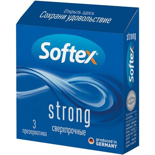 Купить Презервативы Softex Strong, 3 шт.