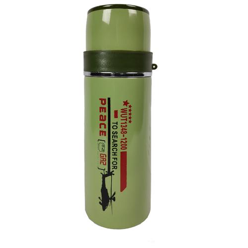 Классический термос Campinger 8051B-B-020, 0.36 л зеленый