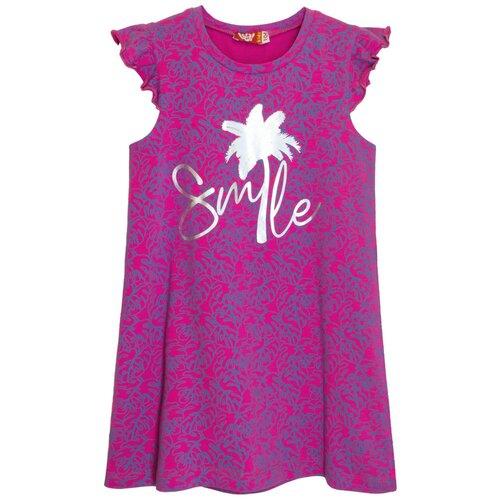 платье для девочки acoola pomelo цвет голубой 20220200368 400 размер 104 8203 Платье для девочки фуксия, размер 104-56