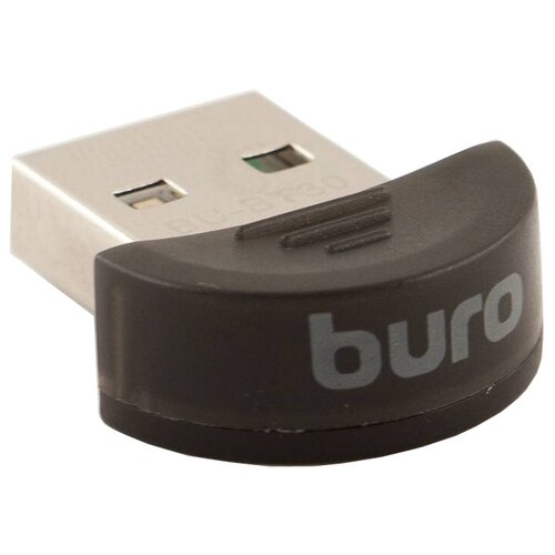 Bluetooth адаптер Buro BU-BT30 черный