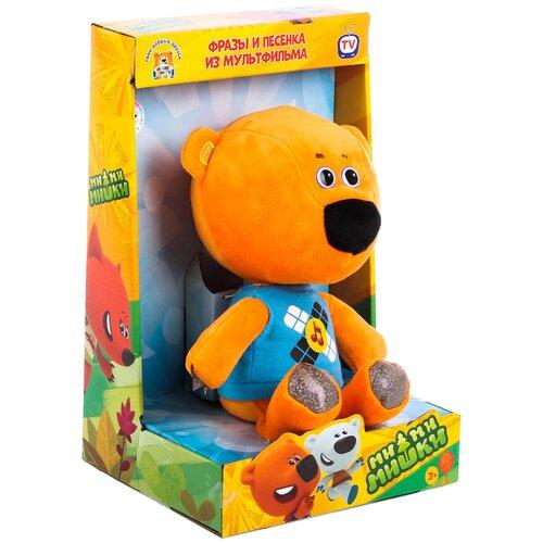 Мягкая игрушка Мульти-Пульти Ми-ми-мишки Медвежонок Кеша озвученный 25 см в коробке игрушка мягкая мульти пульти ми ми мишки медвежонок кеша 25 см музыкальный