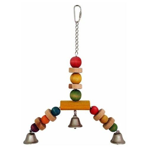 Игрушка для птиц Triol Подвеска-бусинки 30 см