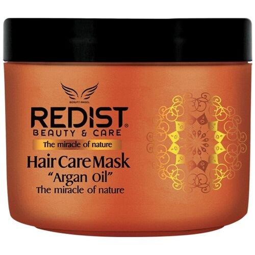 Купить REDIST Professional Восстанавливающая питательная маска для волос с аргановым маслом Hair Care Mask ARGAN OIL, 500 мл