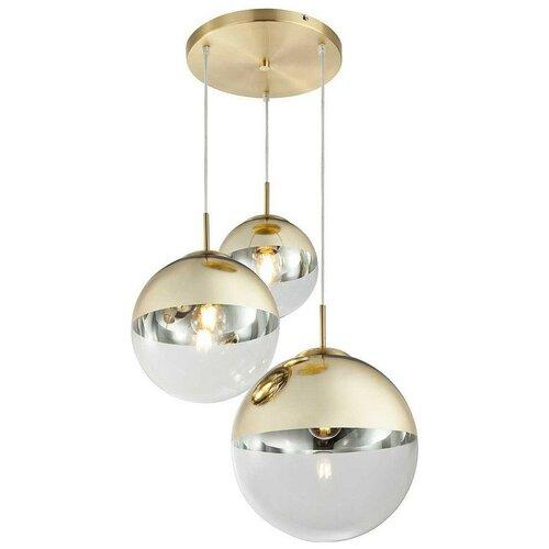 Люстра Toplight Glass TL1203H-03GD, 120 Вт люстра toplight grissell tl1155 3d e14 120 вт