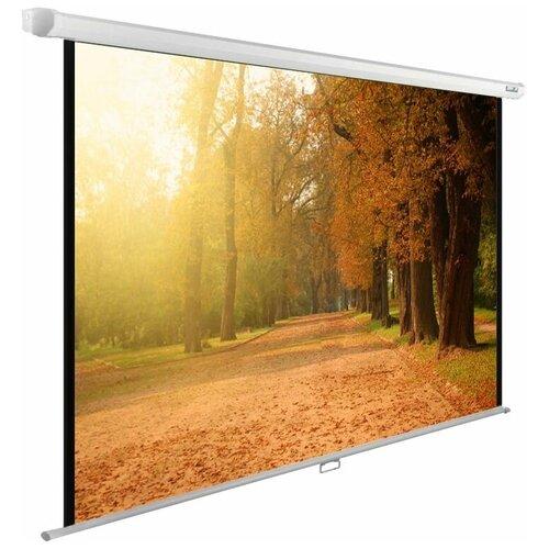 Рулонный матовый белый экран cactus WallExpert CS-PSWE-200x125-WT