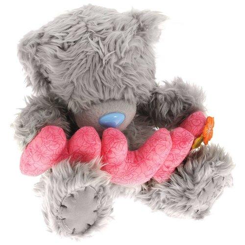 Мягкая игрушка Me to you Мишка Тедди с буквами MUM 20 см