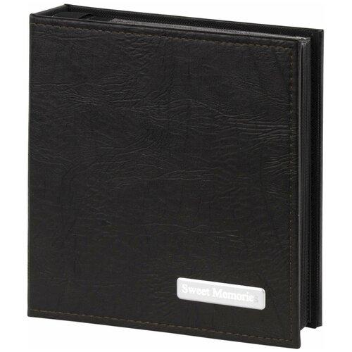 Фотоальбом BRAUBERG обложка под фактурную кожу, бокс (391116), 200 фото, 10 х 15 см, черный фотоальбомы и рамки brauberg фотоальбом под фактурную кожу на 200 фото 10x15 см