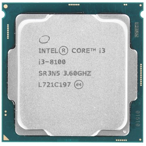 Фото - Процессор Intel Core i3-8100, OEM процессор intel core i3 10100t oem