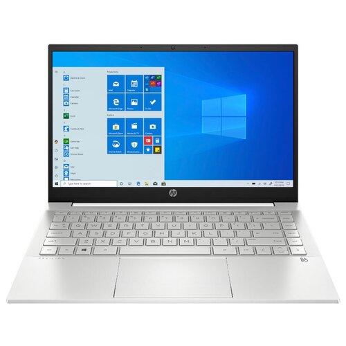 "Ноутбук HP Pavilion 14-dv0046ur (Intel Core i3 1115G4 3000MHz/14""/1920x1080/4GB/256GB SSD/Intel Iris Xe Graphics/Windows 10 Home) 2X2Q3EA белая керамика/естественный серебристый"