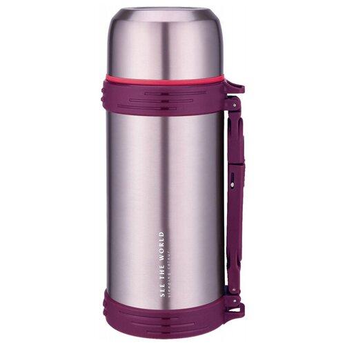 Классический термос Winner WR-8267 / WR-8272, 1.5 л фиолетовый
