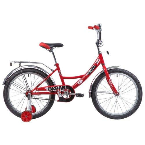 Фото - Детский велосипед Novatrack Urban 20 (2019) красный (требует финальной сборки) детский велосипед novatrack urban 16 2019 синий требует финальной сборки