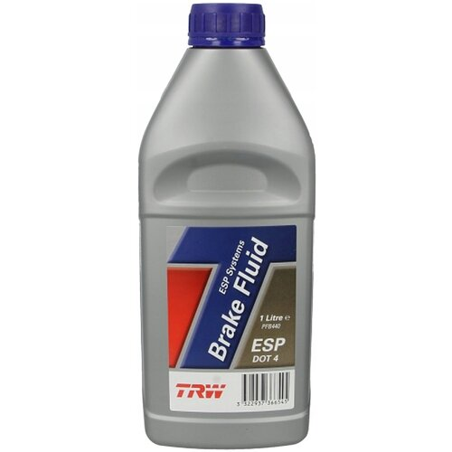 Тормозная жидкость TRW DOT 4 PFB440 1 л