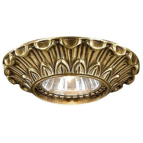 Встраиваемый светильник Reccagni Angelo Rosa spot 1077 bronzo светильник reccagni angelo spot 1082 bronzo rosa spot