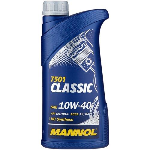 Фото - Полусинтетическое моторное масло Mannol Classic 10W-40 1 л минеральное моторное масло mannol ts 1 shpd 15w 40 10 л