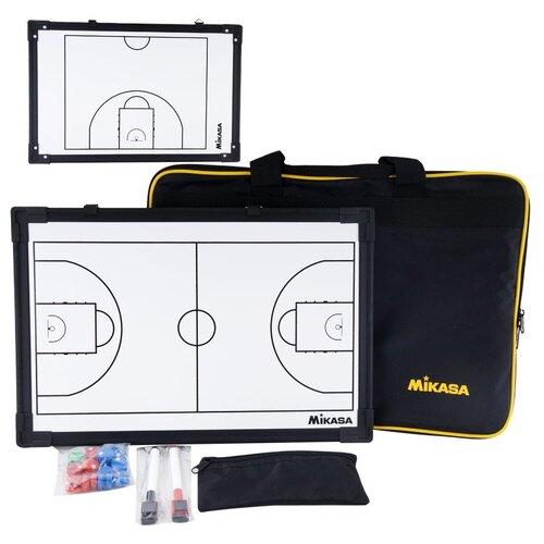 Тактическая доска для баскетбола MIKASA SB-B, 45х30см, маркеры и фишки