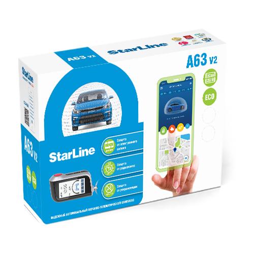 Автомобильная сигнализация StarLine A 63 V2 2CAN+2LIN ECO