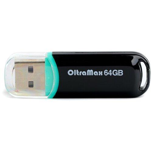 Фото - Флешка OltraMax 230 64 GB, black флешка exployd 580 64 gb black